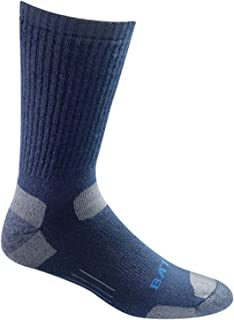 product image for Moisture Wicking Mid Calf Tactical Uniform Navy Blue Medium Sock 1 Pack