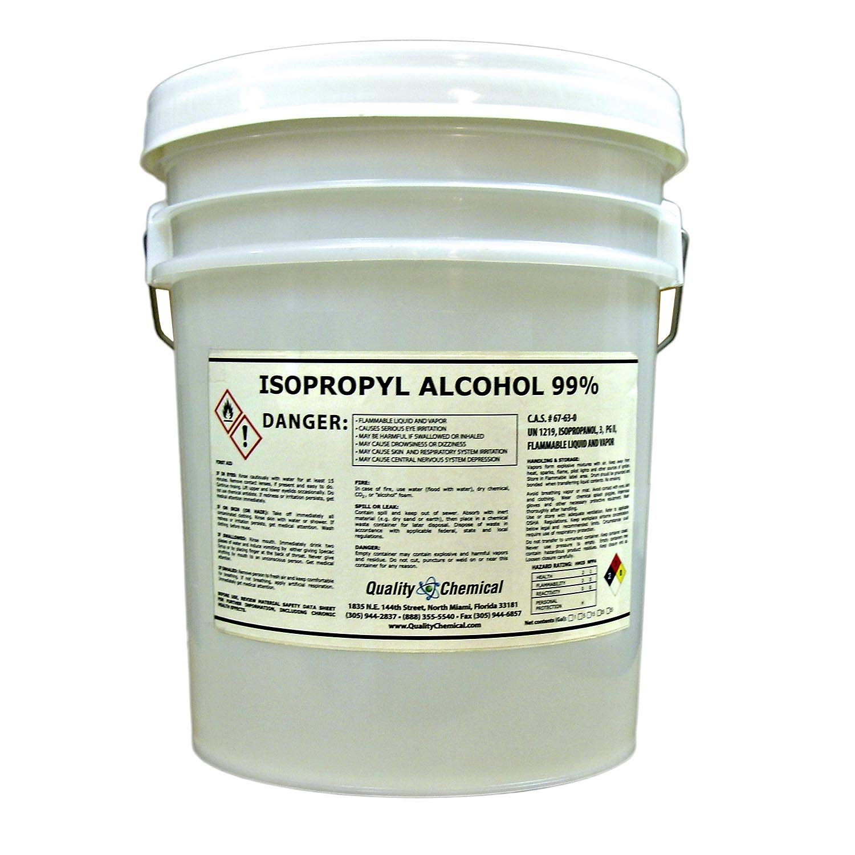 Isopropyl Alcohol Grade 99% Anhydrous (IPA)-5 gallon pail