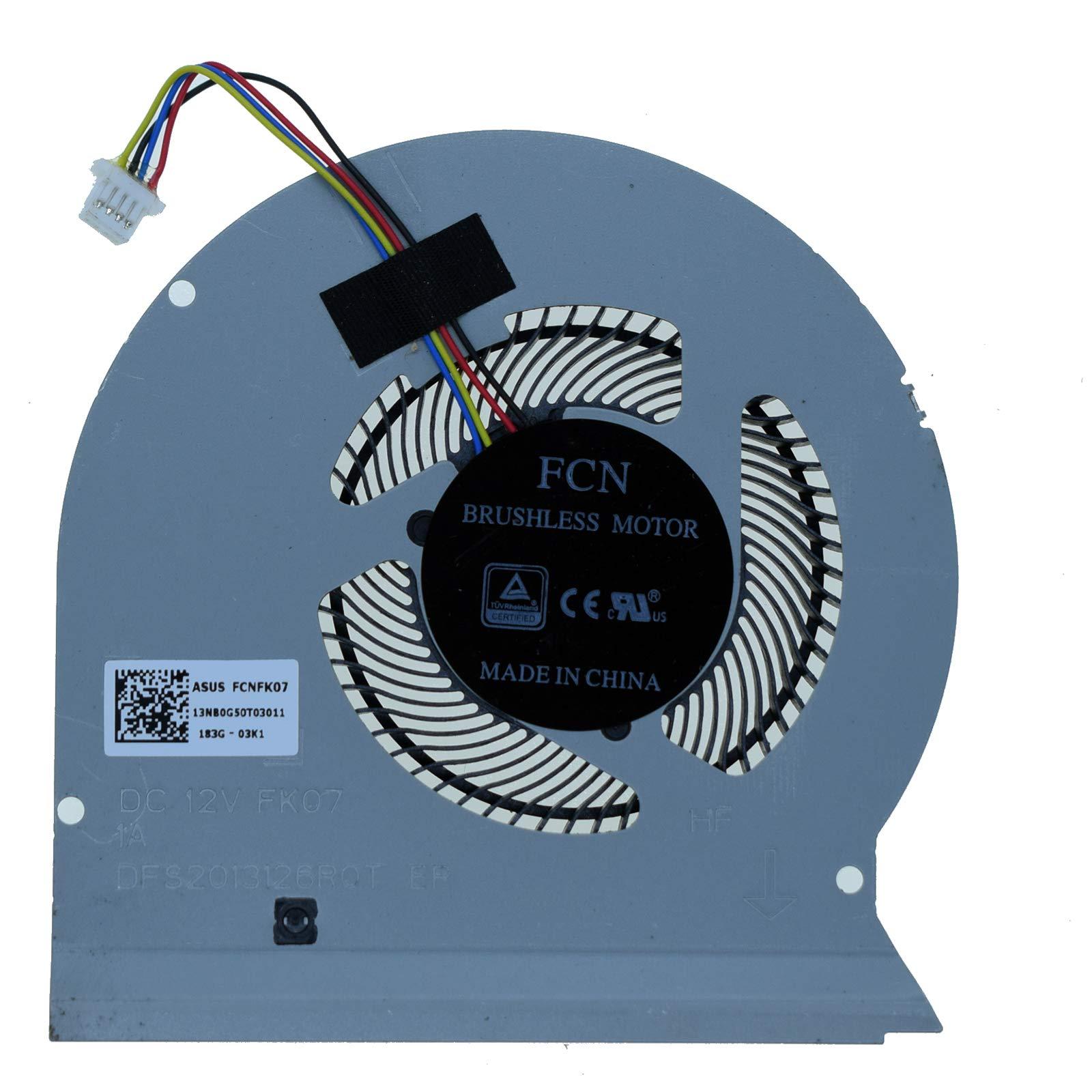 Ventilador GPU para Asus ROG Strix GL503VS GL503V GL503VM Se