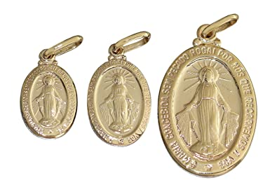 Hobragold st mary pendant14 carat 585 gold wunderttige madonna hobragold st mary pendant14 carat 585 gold wunderttige madonna immaculata milag pink mozeypictures Images