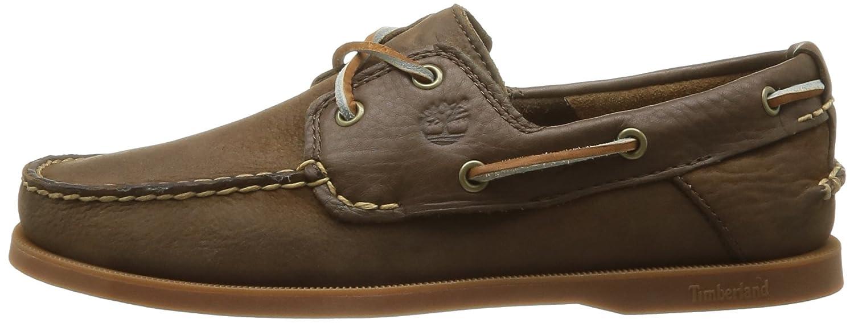 Guardianes De La Tierra Timberland Herencia 2-ojo Marrón Zapatos Del Barco e7CsA