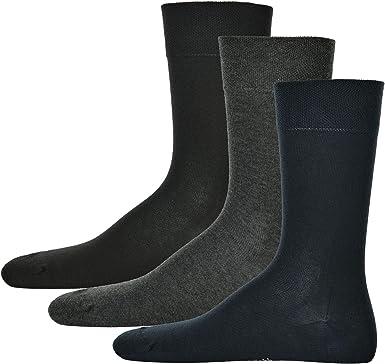 Hudson 3 pares de calcetines de hombre, Algodón Relax, sin hilos ...
