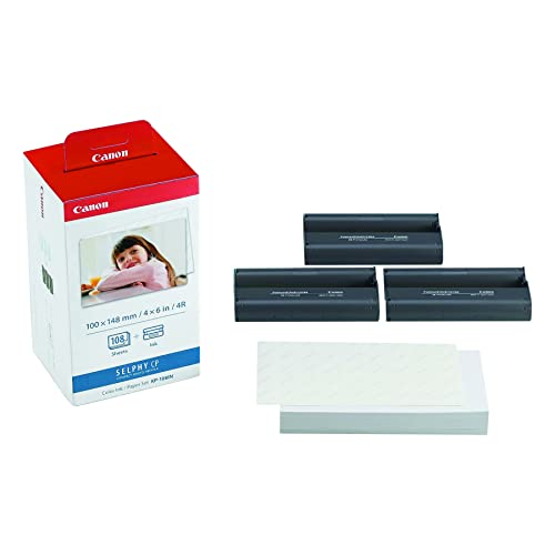 Canon 3115B001(AA) Ink and Paper Set for Selphy CP Series Photo Printers