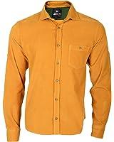 Frank NY Basic Pocket Cord Hemd Timber