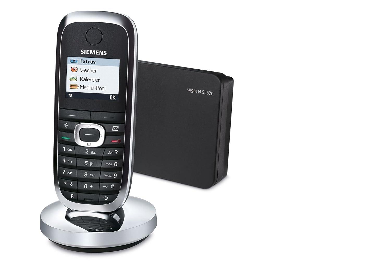 Nieuw Siemens Gigaset SL370 in mattschwarz Dect Telefon: Amazon.de UV-66