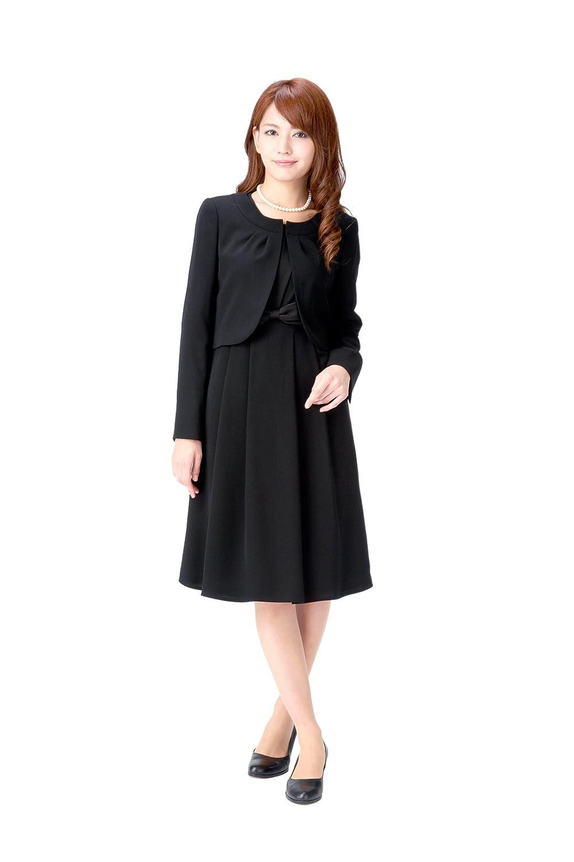(マーガレット)marguerite 喪服 レディース ブラックフォーマル アンサンブル 礼服 m426 B00W8OJIGI 13号