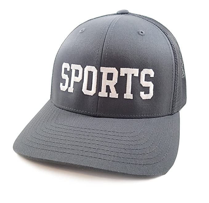 info for aac76 b2e23 Luso The Sports Hat (Charcoal) at Amazon Men s Clothing store