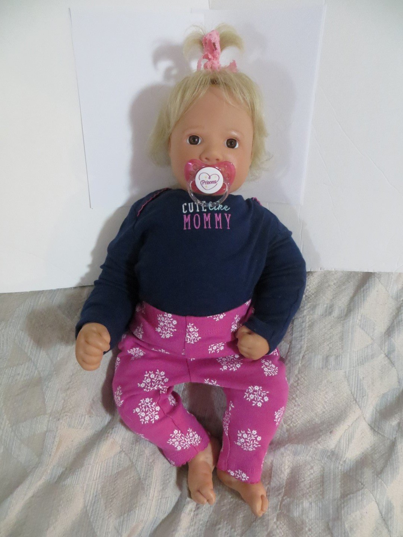 Amazon.com: 1 Chupete magnético Reborn bebé muñeca Sparkle ...