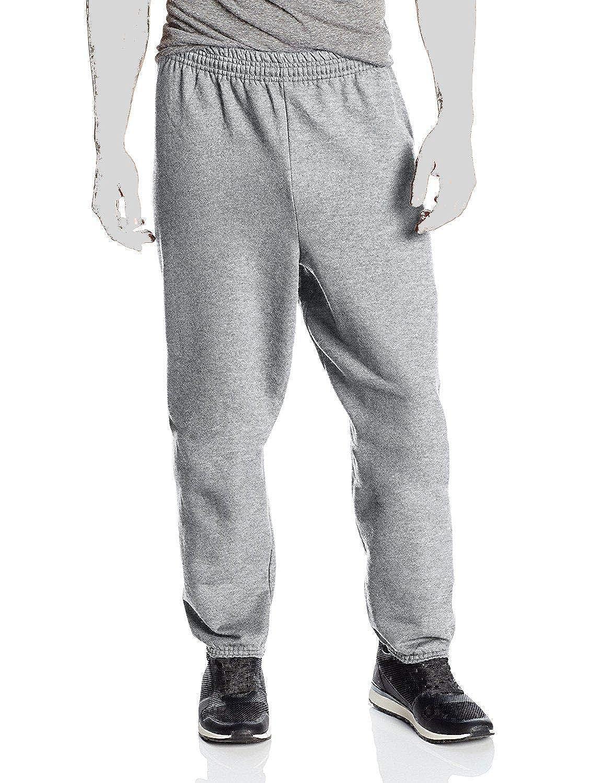 0adfe2c59 Hanes Men's EcoSmart Fleece Sweatpant, Light Steel/Charcoal Heather, Large  at Amazon Men's Clothing store: