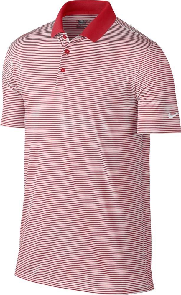 ナイキ ゴルフ DRI-FIT ヴィクトリー ミニ ストライプ 半袖ポロシャツ B013WTVFYK 3X-Large|レッド/ホワイト(University Red/White) レッド/ホワイト(University Red/White) 3X-Large