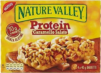 Nature Valley Protein Frutos Secos y Caramelo Salado Barritas ...