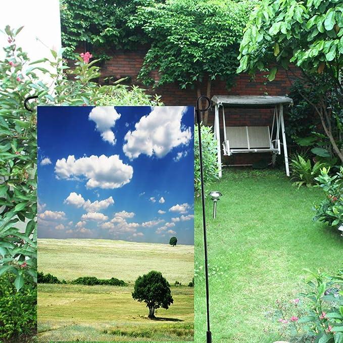 Amazon.com: Ahawoso Garden Flag 12x18 Inches Summer Green ...