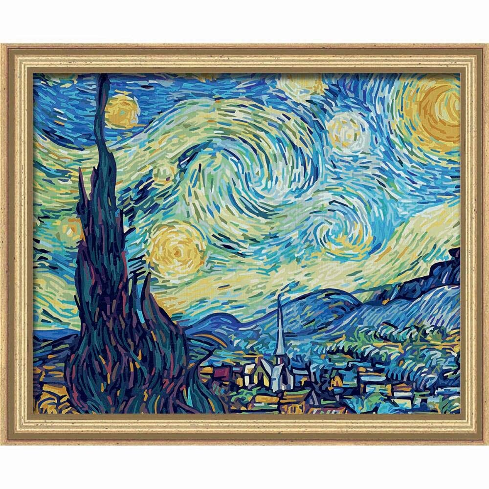 Schipper 609130816 Painting by Number Starry Night 40 x 50 cm by Schipper
