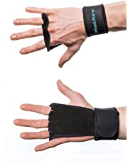 Urban Lifters Hand Grips - Perfect for Crossfit, Gymnastics, WOD's and Olympic Lifting. Hand Protection from Tears, Rips and Callus. Complete with Wrist Support. Sold as a Pair.