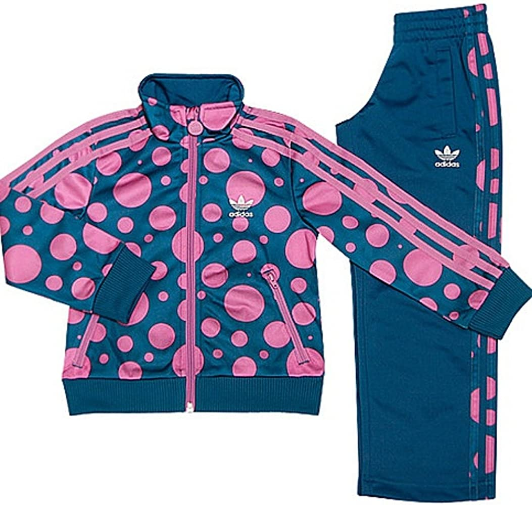 adidas - Chándal - para niña Multicolor Azul/Rosa 9-10 Años=140 cm ...
