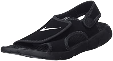 662a2cb409d Nike Kids Unisex Sunray Adjust 4 (Infant/Toddler) Black/White/Anthracite