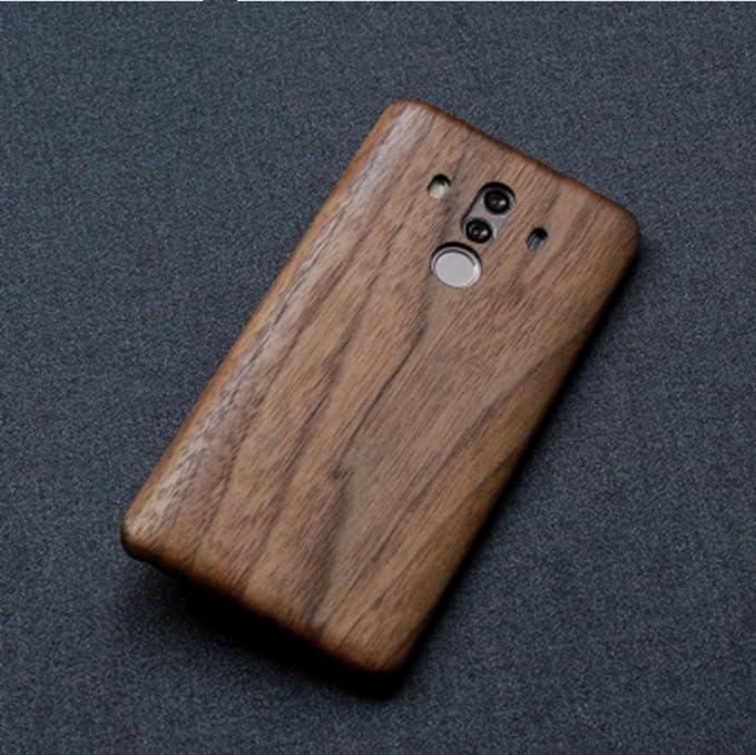 san francisco f93c3 24e23 Amazon.com: Huawei Mate 10 Pro Wood Case,DAYJOY Luxury Ultra Thin ...