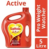 Saffola Active, Pro Weight Watchers Edible Oil, 5 L Jar