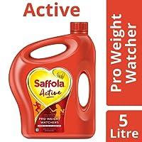 Saffola Active, Pro Weight Watchers Edible Oil, 5 L Jar