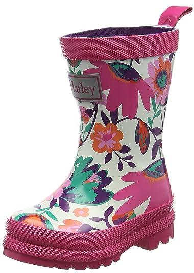 Hatley RB0GAFL237, Botas de Agua Niñas: Amazon.es: Zapatos y complementos