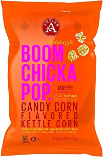 product image for Angies Boomchickapop Holiday Limited Chocolaty Drizzled Kettle Popcorn 4.5oz (Candy Corn)