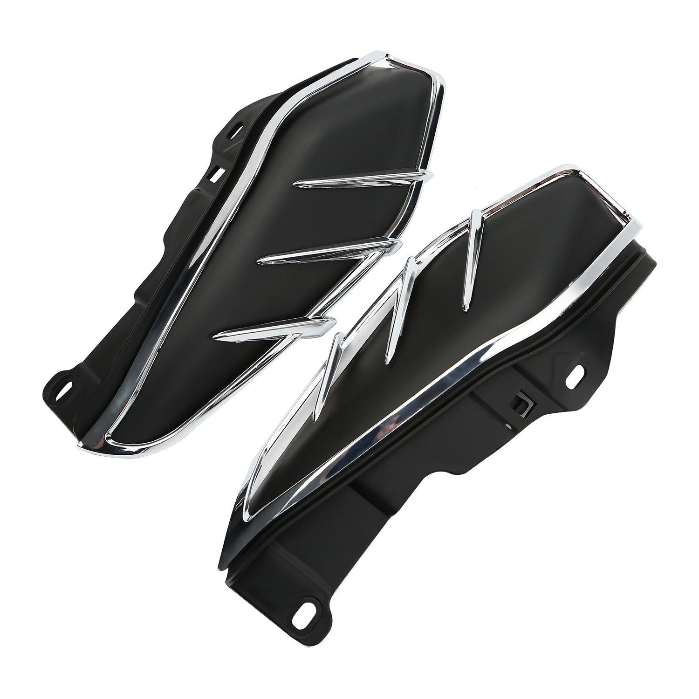 Pare-brise Bas d/éflecteurs dAir Lat/éraux Thermique D/éflecteurs dAir /à lEcart Chaleur pour Harley Touring FL Electra Street Road Glide 2009 CICMOD Moto D/éflecteurs 2017