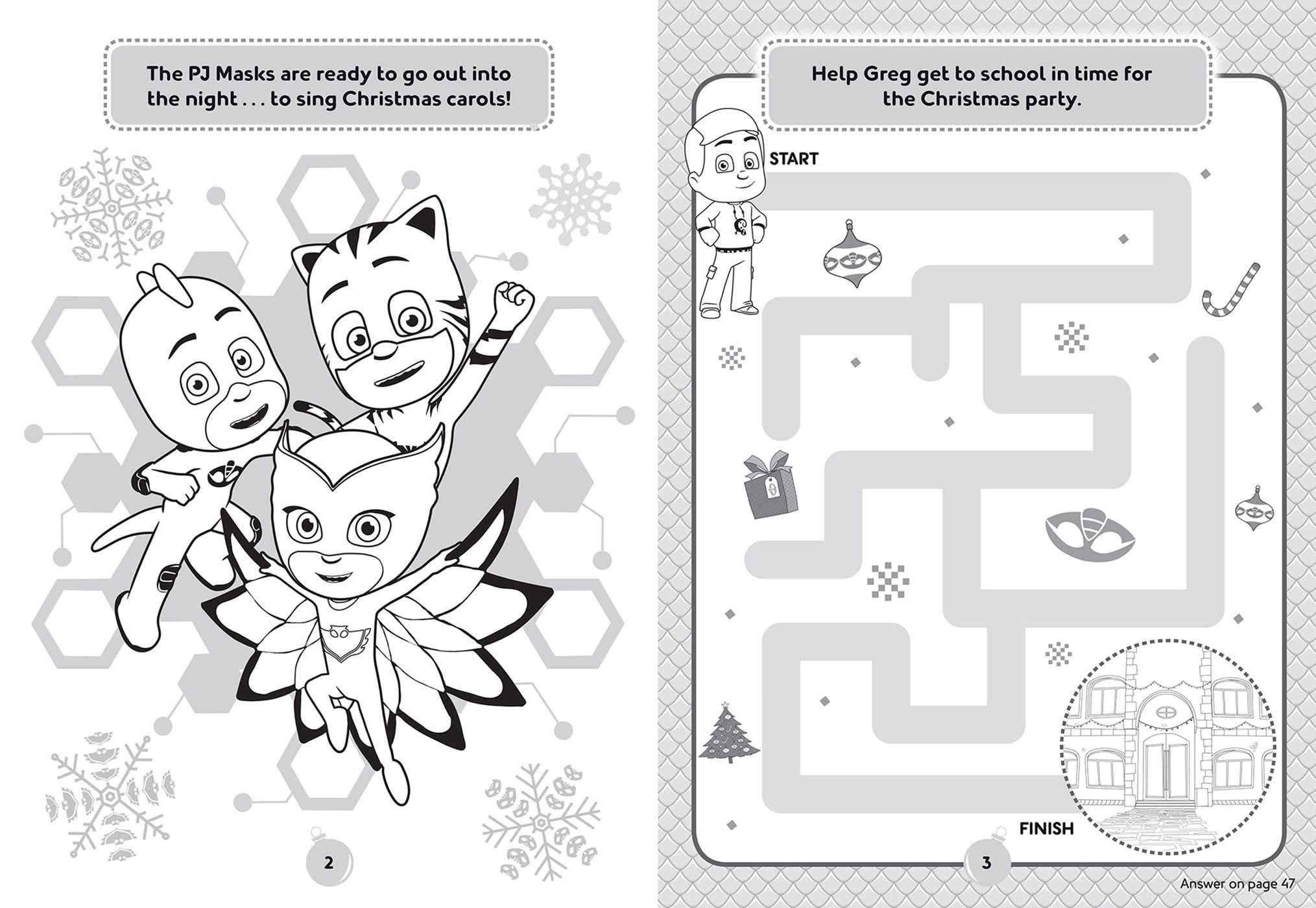 PJ Masks: Hooray for Christmas!: Amazon.es: Editors of Studio ...