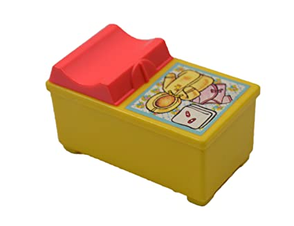 Amazon Com Changing Table Little People Vintage 2 5 Dollhouse