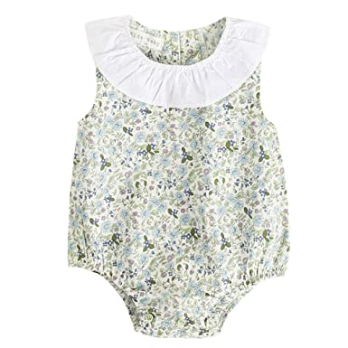 8f2f03ac0cea4 Sixcup Baby Clothes for 0-3 Ages, Newborn Infant Baby Boy Girls Floral  Print Rompers Outfits Clothing: Amazon.co.uk: Clothing