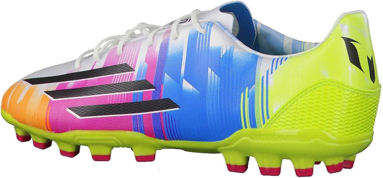 Adidas - Botas de fútbol F30 TRX AG Messi, blanco (Running ...