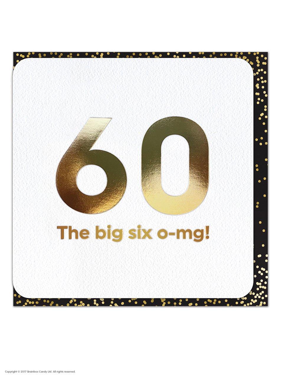 Divertida tarjeta de felicitación de cumpleaños número 60 ...