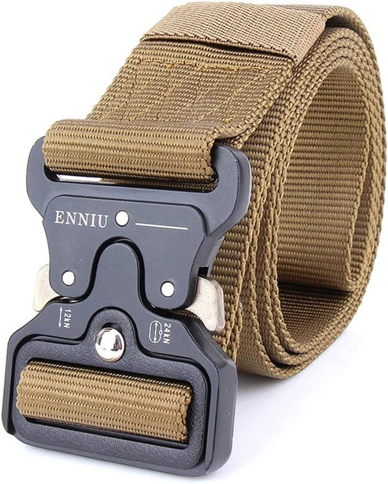 Men Army Tactical Belts Special Forces Swat Military Equipment Army Belt Soldier Combat Strap Waistband