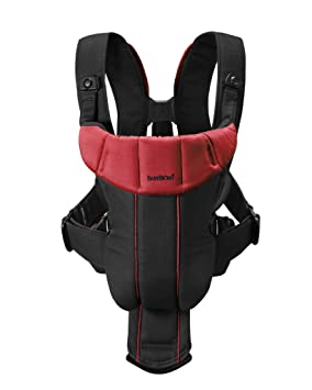 7c83680620e Baby Bjorn Carrier Active in Black Red  Amazon.co.uk  Baby