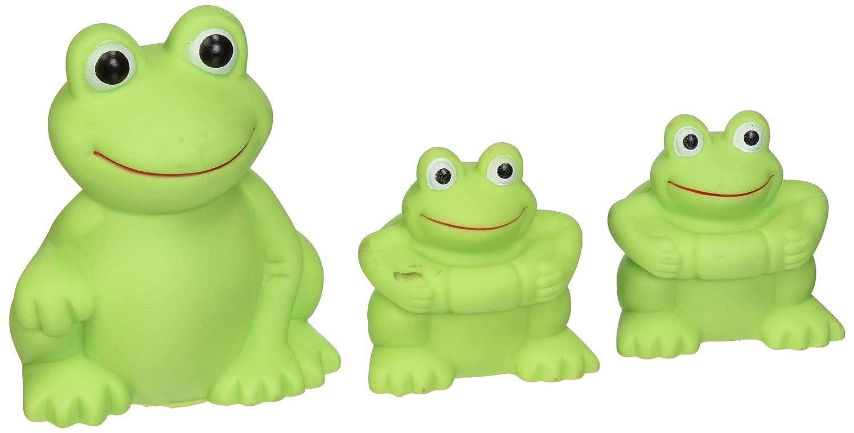 Frog bathroom set - Amazon Com Vital Baby Play N Splash Family Frogs 3 Pack Bathtub Toys Baby