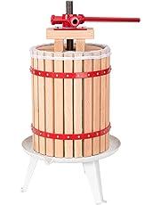 TecTake Prensador de Fruta Extractor Filtro Jugo Exprimidor Manual Prensa Naranja | Incl. paño de prensa - varias tamaños -