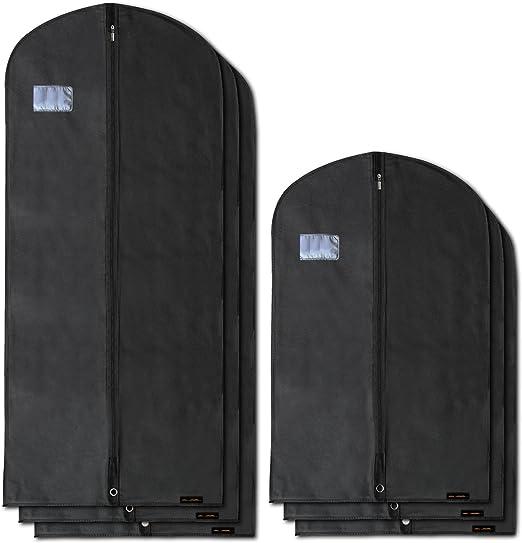 Hangerworld 6 Fundas para Ropa de 102cm y 150cm Porta Traje y ...