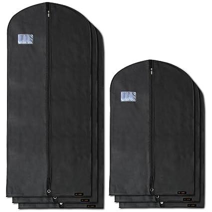 Hangerworld 6 Fundas para Ropa de 102cm y 150cm Porta Traje ...