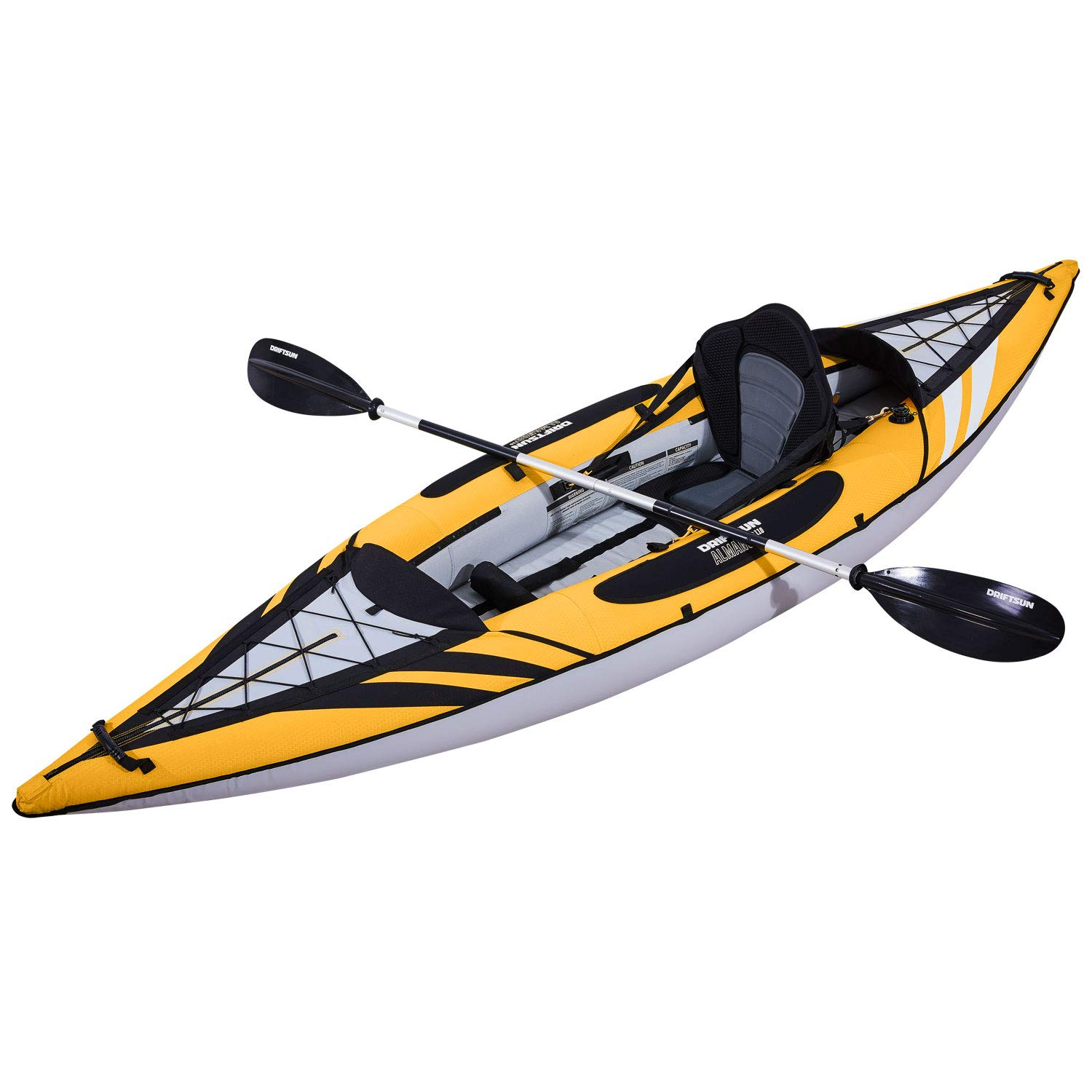 Amazon.com: Driftsun Almanor 110 - Kayak hinchable de ...