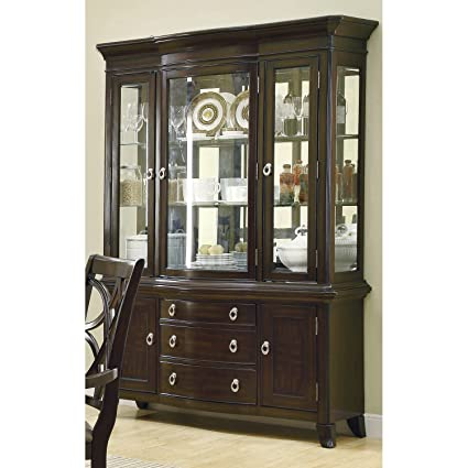 Coaster Home Furnishings 103534 Contemporary Buffet/Hutch, Espresso