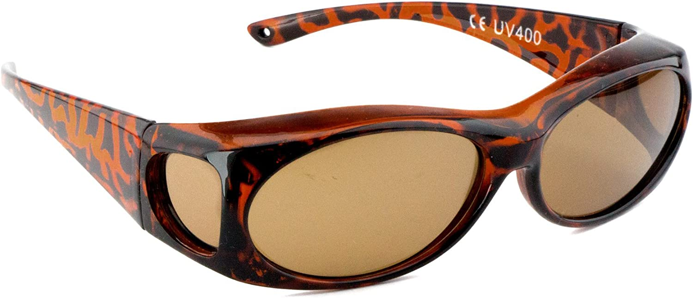 Da Uomo OVERGLASSES /& Custodia Set-Polarizzato UV400 Occhiali da sole da indossare sopra prescripti