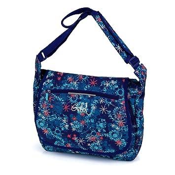 b87043946e67 Girls Ladies Laptop Ipad Uni School College Work Retro Shoulder Satchel Messenger  Handbag Bag (2178 Folk)  Amazon.co.uk  Computers   Accessories