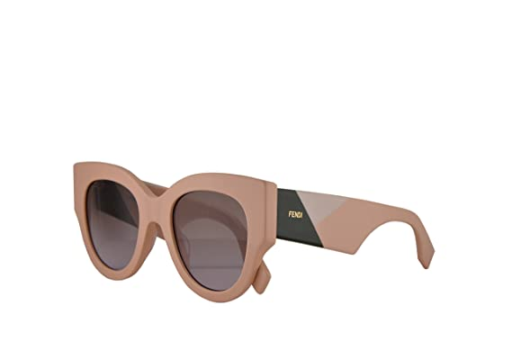 662176913318 Image Unavailable. Image not available for. Color  Fendi FF0264 S Sunglasses  Pink w Brown ...