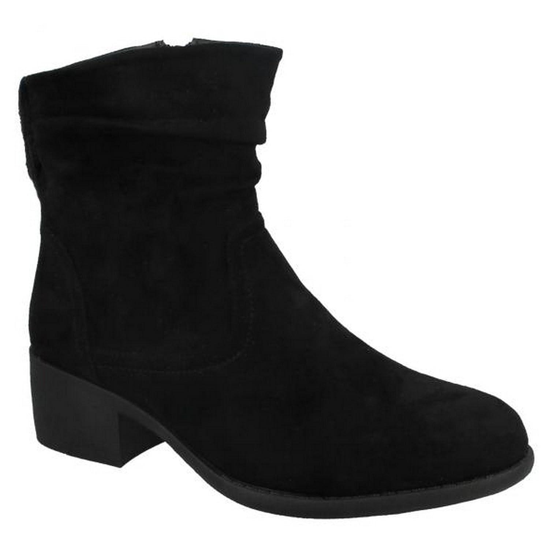 Spot on Damen Ankle Boots mit Raffung  Amazon.de  Schuhe   Handtaschen 035b7c2f05