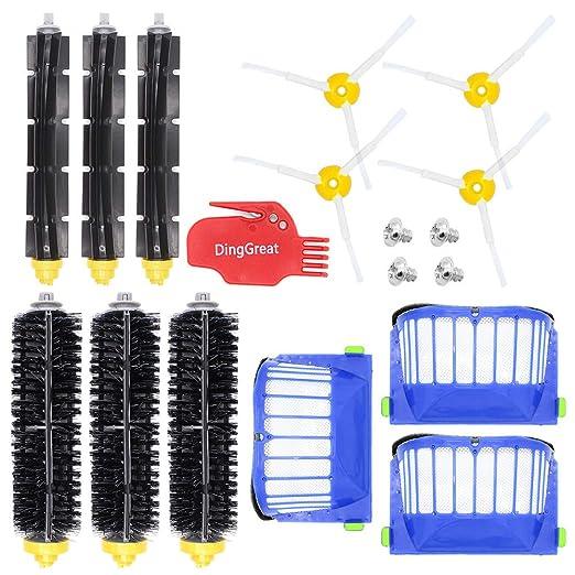 DingGreat Kit Repuestos y Accesorios Filtro y Cepillo Lateral para ...