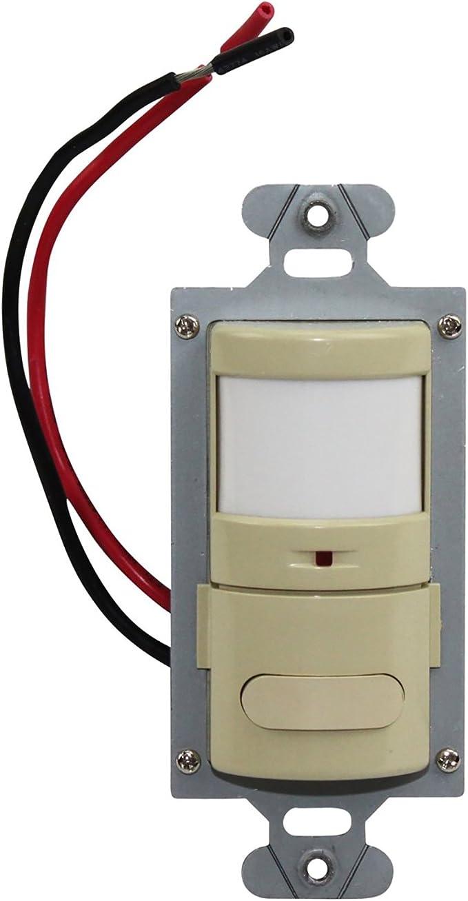 Wattstopper PW311LA PIR Dimmable Wall Switch Occupancy Sensor 120//277 LT almond