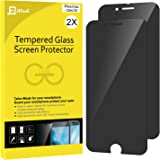 JETech Tempered Glass Screen Protector for Apple iPhone 6 Plus 6s Plus Pack of 2 B