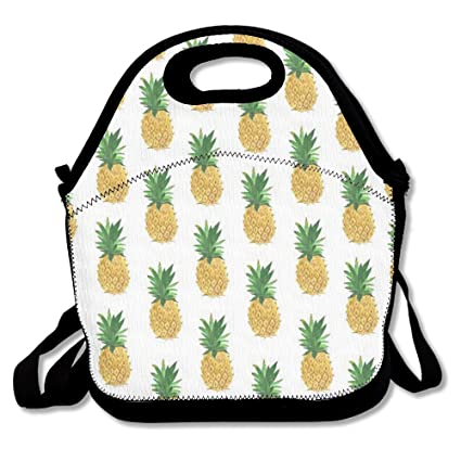 c210831b1ea7 Pineapple Lunch Bag Lunchboxes Outdoor Travel Picnic Lunch Box Bag