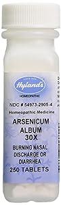 Hyland's Arsenicum Album, 30X, Tablets, 250 Tablets