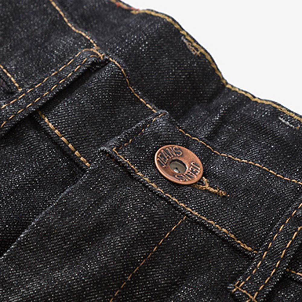 Cargo/&Chinos Mens Casual Autumn Denim Cotton Vintage Wash Hip Hop Work Trousers Jeans Pants