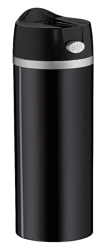 Alfi 5817.233.035 - Recipiente Termo de Acero Inoxidable Lacado, 0,35 l, Color Negro